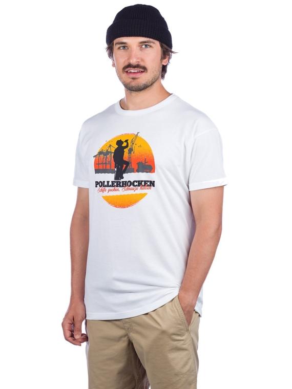 Derbe Pollerhocken T-Shirt wit