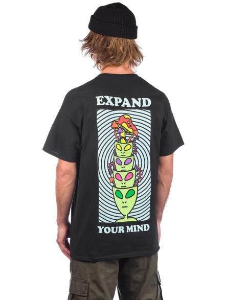 A.Lab Minds Expanded T-Shirt zwart