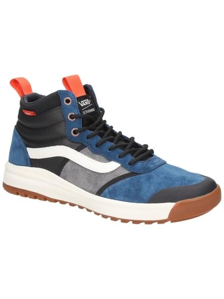Vans Ultrarange HI Dl MTE schoenen blauw