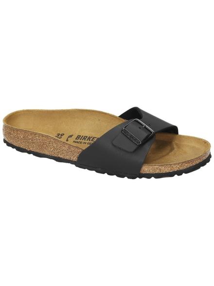 Birkenstock Madrid slippers zwart