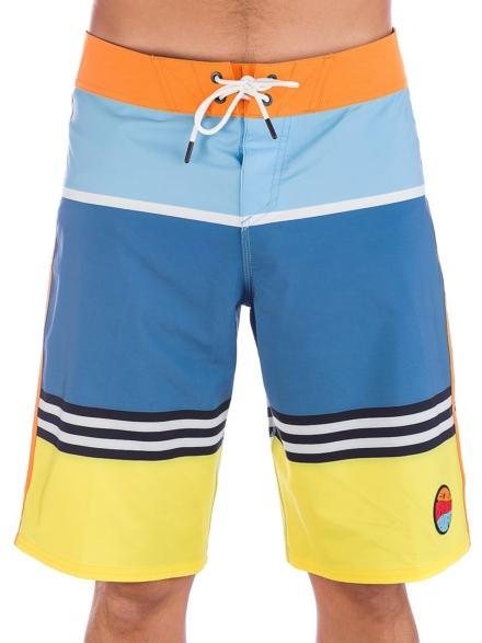 """Oakley Striped 1975 21"""" Boardshorts blauw"""