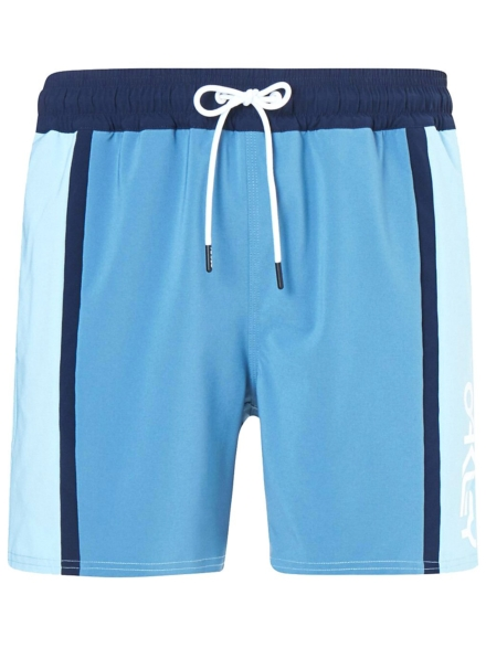 "Oakley B1B Color Block 16"" Boardshorts blauw"