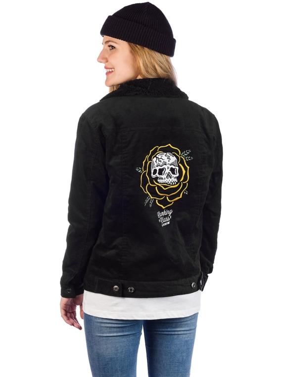 Lurking Class Thorn Rose Sherpa Cord Ski jas zwart