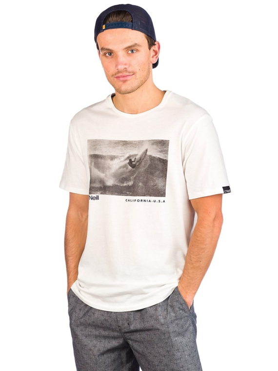 O'Neill Photoprint T-Shirt wit