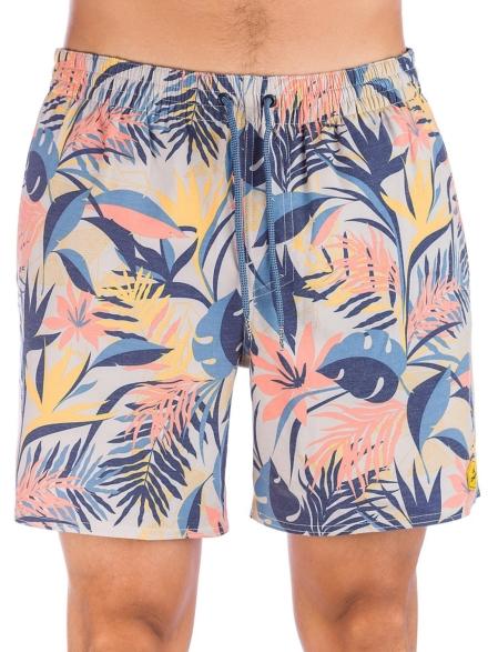 O'Neill Hawaii Floral Boardshorts bruin