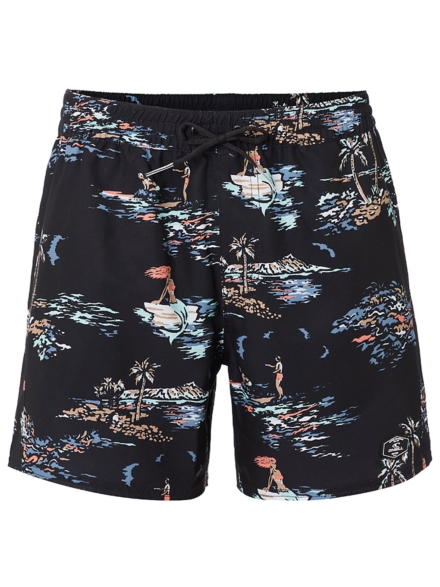 O'Neill Tropical Boardshorts zwart