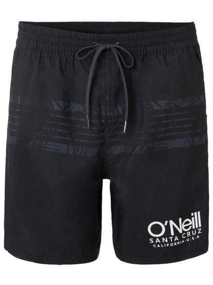 O'Neill Cali Stripe Boardshorts zwart