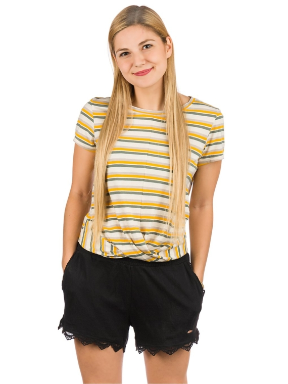 O'Neill Leona Stripe T-Shirt groen