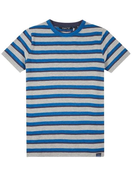 O'Neill Mateo Striped T-Shirt blauw