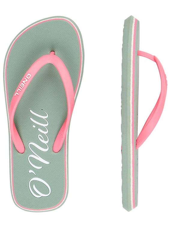 O'Neill Logo slippers groen