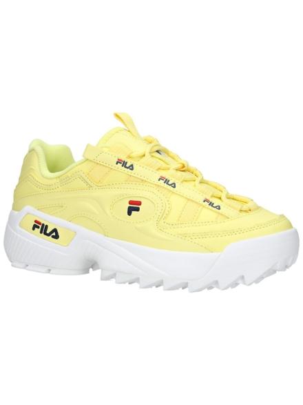 Fila D-Formation Sneakers geel