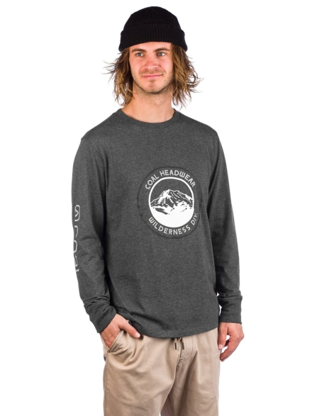 Coal Wallowa Long Sleeve T-Shirt grijs