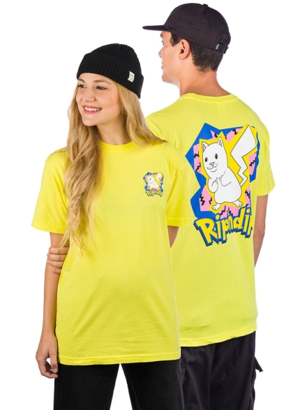 RIPNDIP Catch em All T-Shirt geel