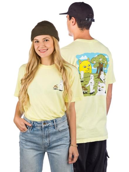 RIPNDIP Park Day T-Shirt geel