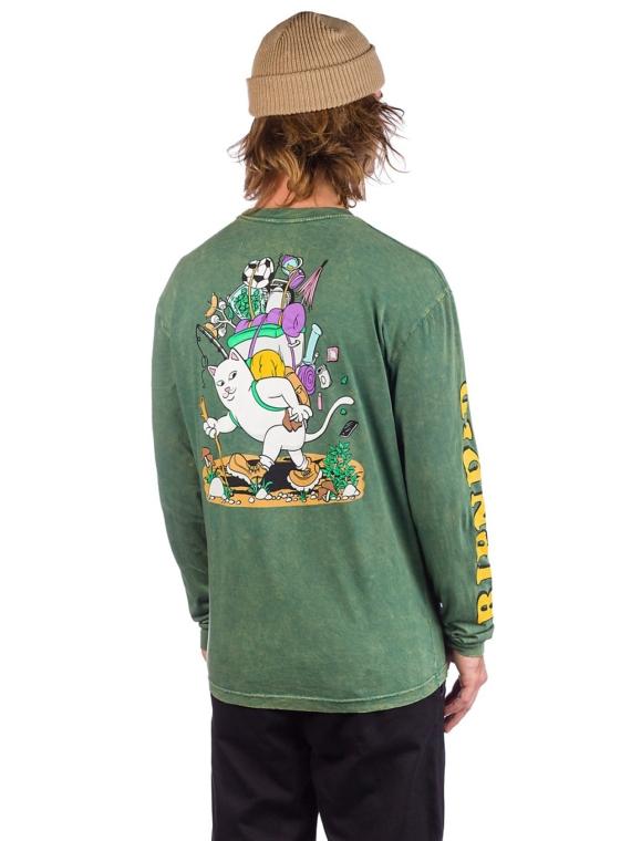 RIPNDIP Hiker Nerm Long Sleeve T-Shirt groen