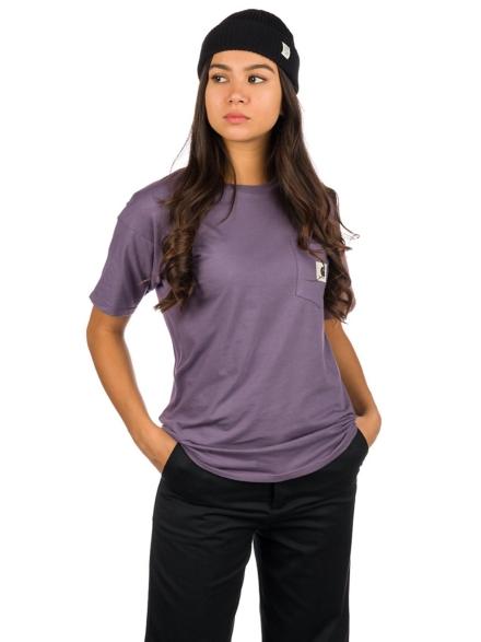 Carhartt WIP Carrie Pocket T-Shirt paars