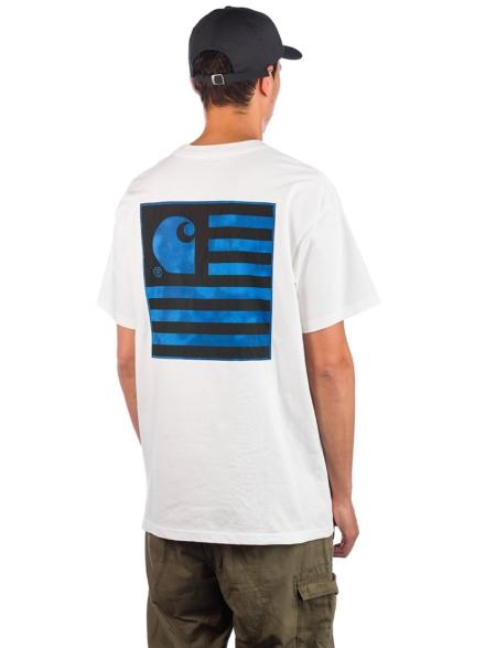 Carhartt WIP State Chromo T-Shirt wit