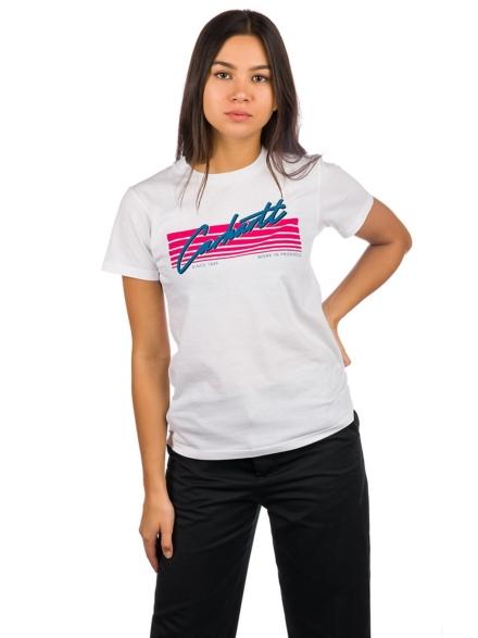 Carhartt WIP Horizon T-Shirt wit