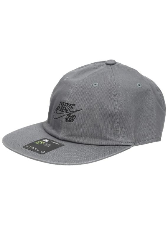 Nike Heritage 86 Snapback petje grijs
