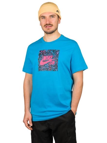 Nike SB Triangle Hbr T-Shirt blauw
