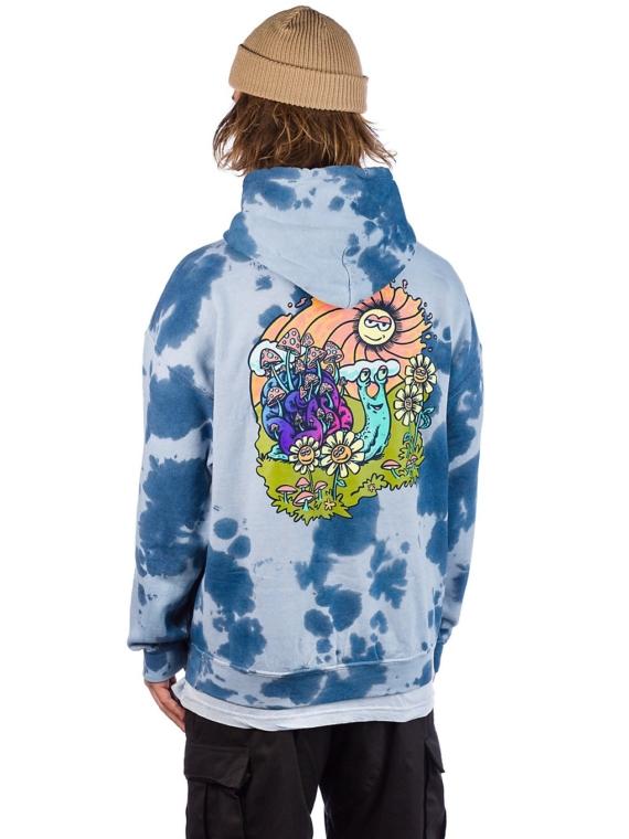 A.Lab Hippie Snail Hoodie blauw