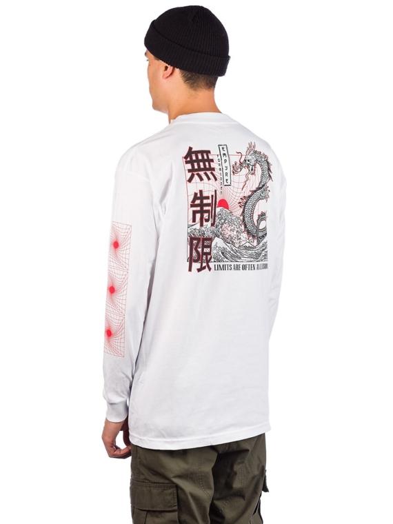 Empyre Forbidden Long Sleeve T-Shirt wit