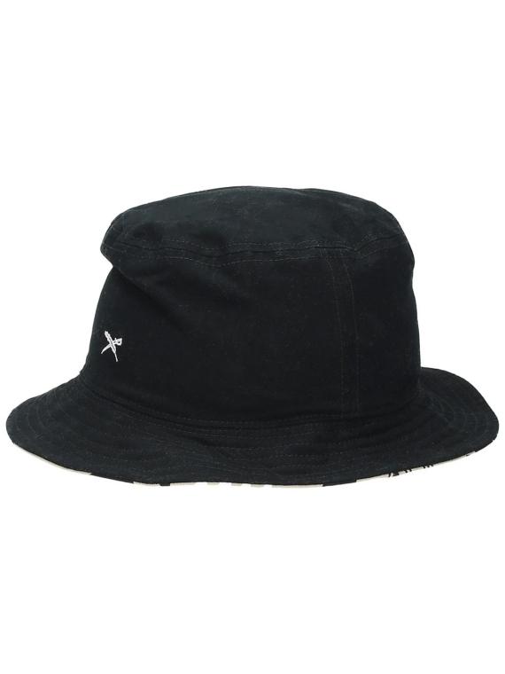 Iriedaily Nomado Bucket hoed zwart