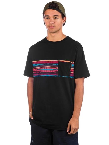 Iriedaily Theodore Pocket T-Shirt zwart