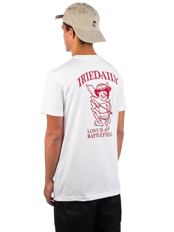 Iriedaily Lovesick T-Shirt wit