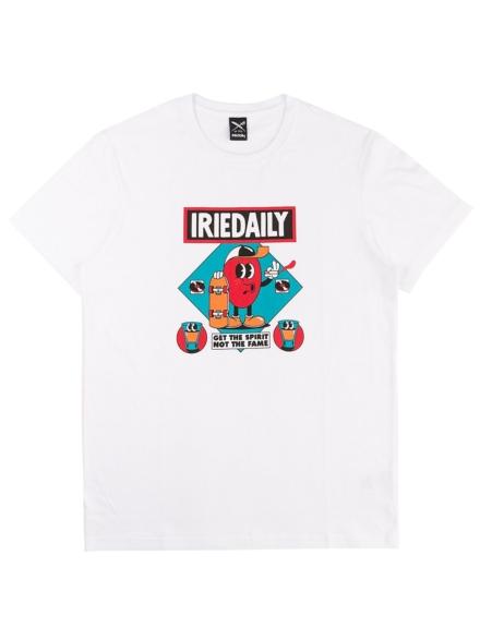 Iriedaily Get the Spirit T-Shirt wit