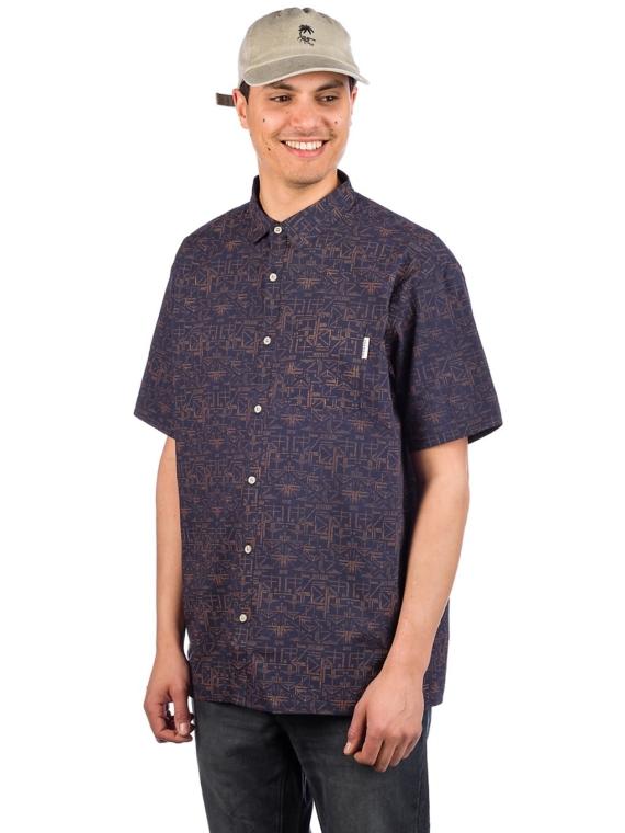 Iriedaily Sambasa Shirt blauw