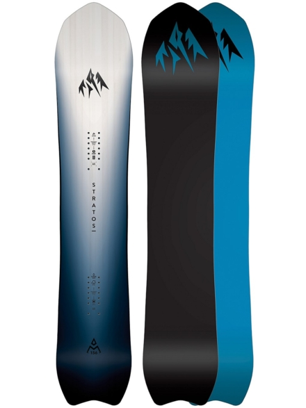 Jones Snowboards Stratos Ltd 161W 2020 zwart