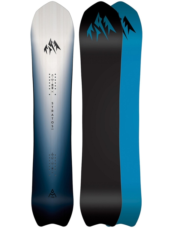 Jones Snowboards Stratos Ltd 161W 2020 zwart