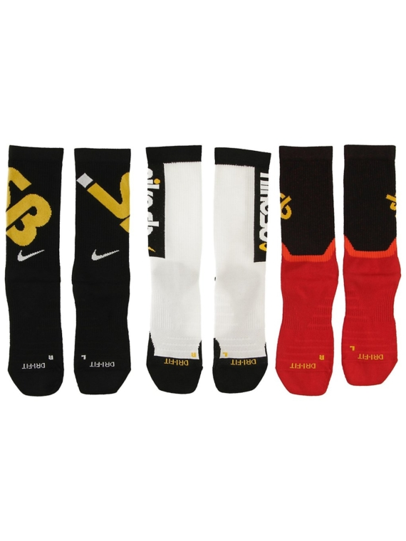 Nike Everyday Max Lightweight 3Pk skisokken patroon