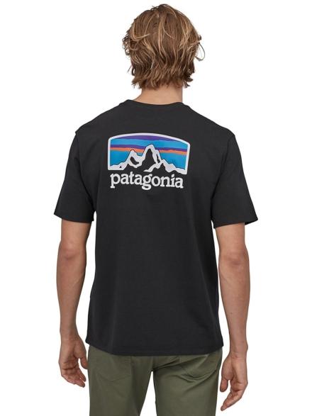 Patagonia Fitz Roy Horizons Responsibili T-Shirt zwart