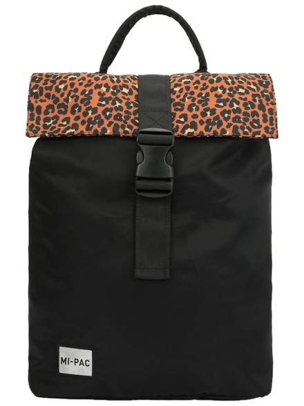 Mi-Pac SP Nylon Leopard Pack rugtas zwart