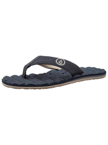 Volcom Recliner slippers blauw