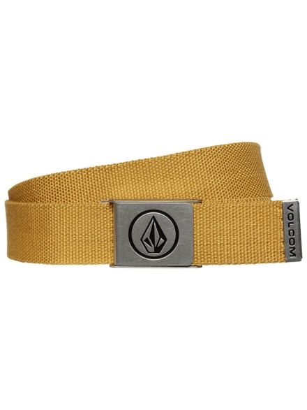 Volcom Circle Web Belt geel