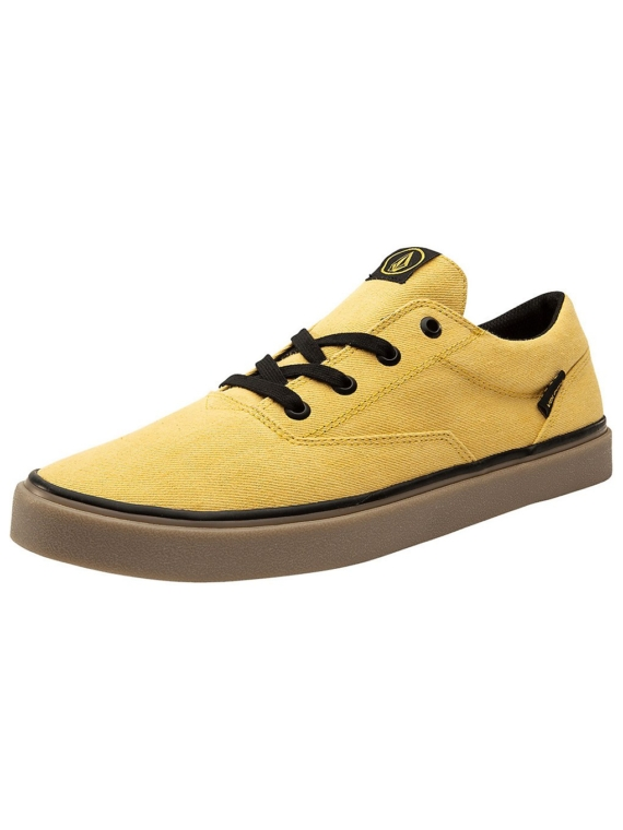 Volcom Draw Lo Sneakers geel