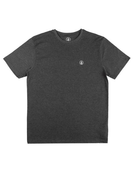 Volcom Circle Blanks Heather T-Shirt zwart