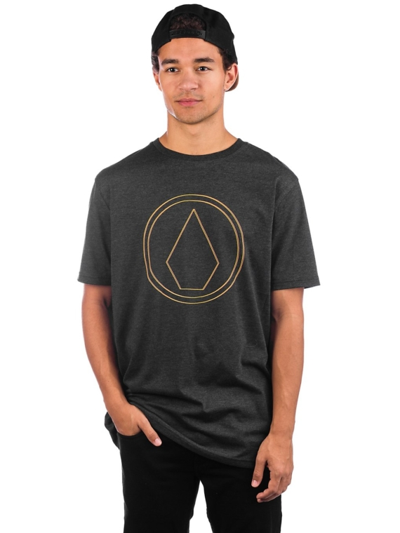 Volcom Pinner Heather T-Shirt zwart