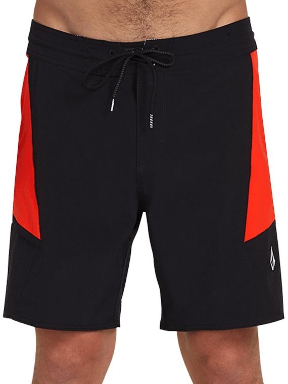 Volcom Stained Glss Stoney 18″ Boardshorts zwart