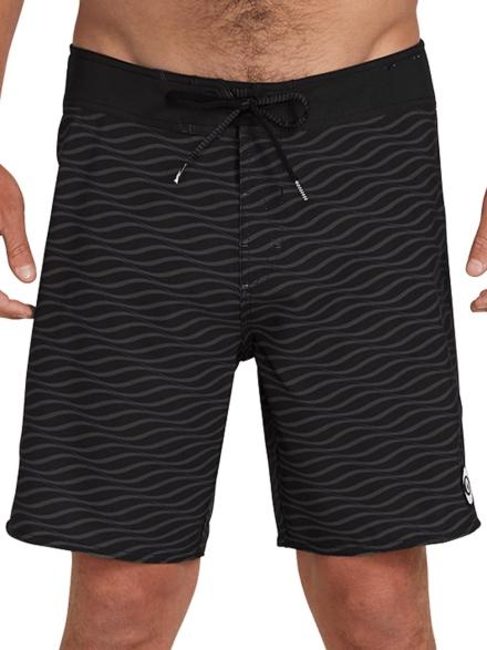 Volcom Levstone Vibes Mod Boardshorts zwart