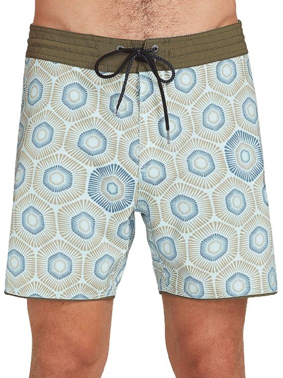 Volcom Sun Medallion 16″ Boardshorts blauw