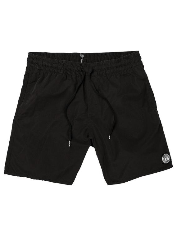 Volcom Lido Solid 16″ Boardshorts zwart