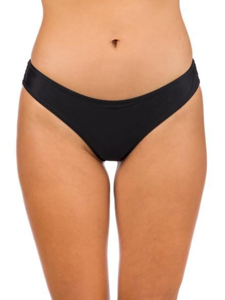 Volcom Simply Solid Cheekin Bikini Bottom zwart