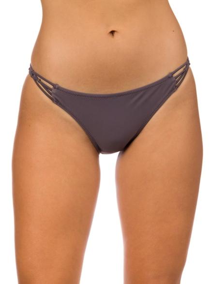 Volcom Simply Solid Full Bikini Bottom grijs