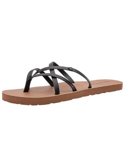 Volcom New School ll slippers zwart
