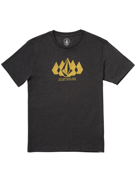 Volcom Stone Army Heather T-Shirt zwart