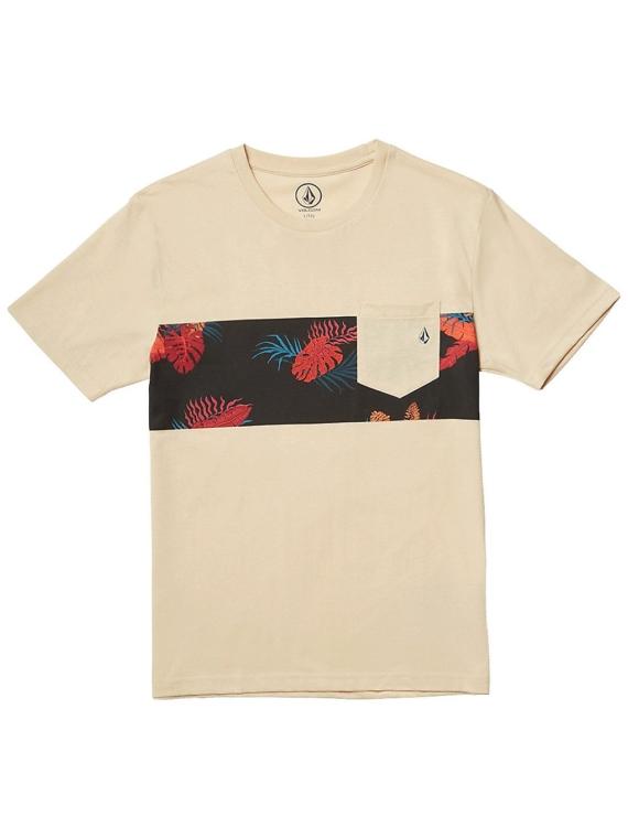 Volcom Patternation Heather T-Shirt bruin